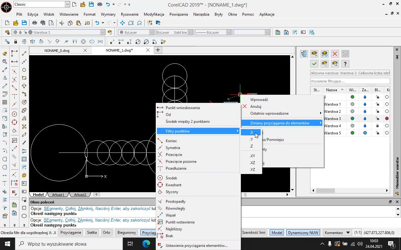 Corel CAD kurs